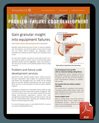 Problem Failure Code Development