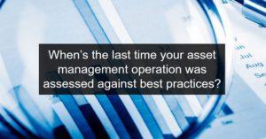 Asset Management Operation